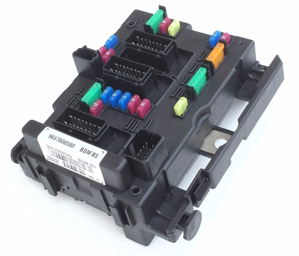 Free Shipping Fuse Box Unit Assembly Relay For Peugeot 206 Cabrio 307 406  Coupe 807: