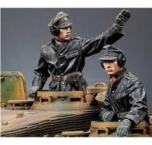 1 35 Scale Models WW2 German tank corps B WWII Resin Model Free Shipping