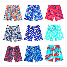 2018 BREVILE PULLQUIN Beach Board Short Turtle Pineapple Red Shrimp Man Boardshorts