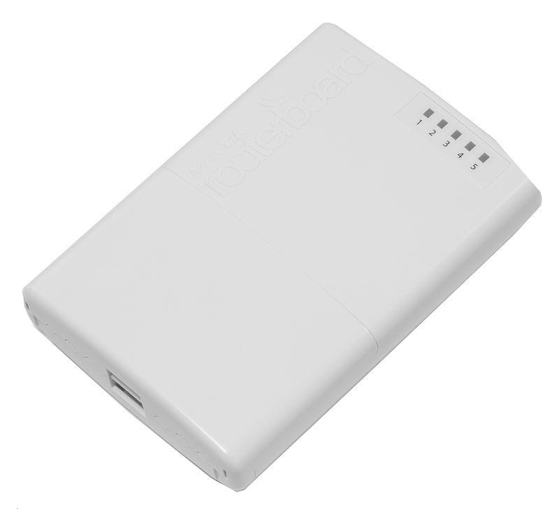 Mikrotik RB750P-PBr2 PowerBox 650 MHz CPU 64 MB RAM 5 porta Ethernet com PoE ao ar livre L4 RouterOS Router Ao Ar Livre