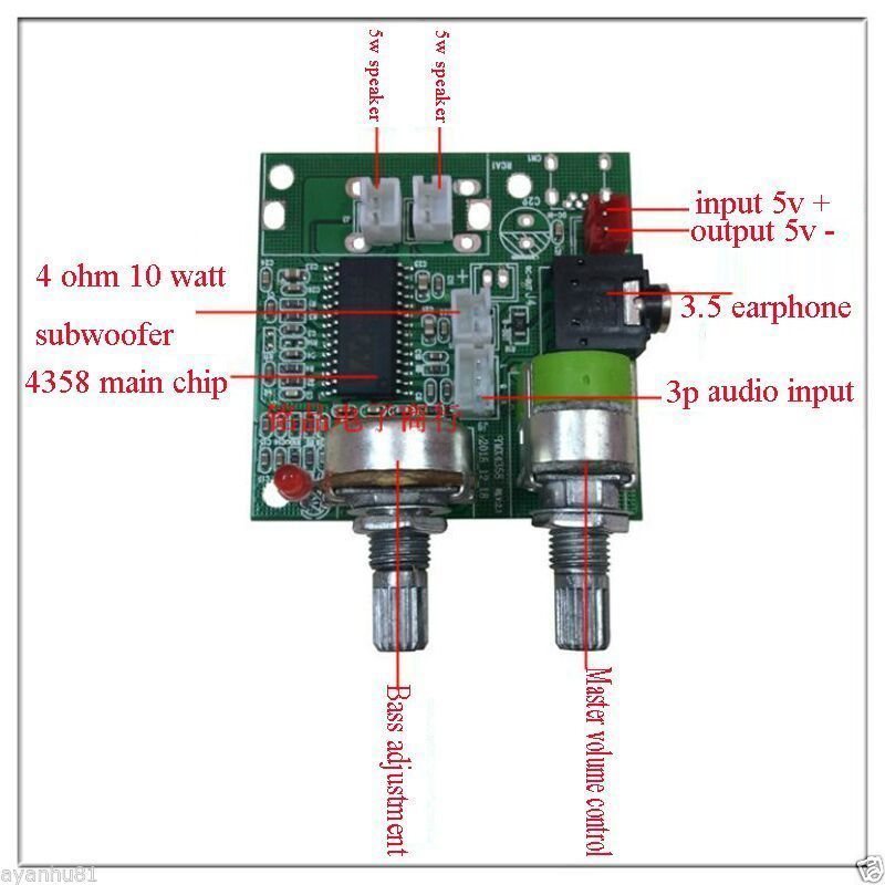 The Digital Clock Integrated Circuit Amplifiercircuit Circuit