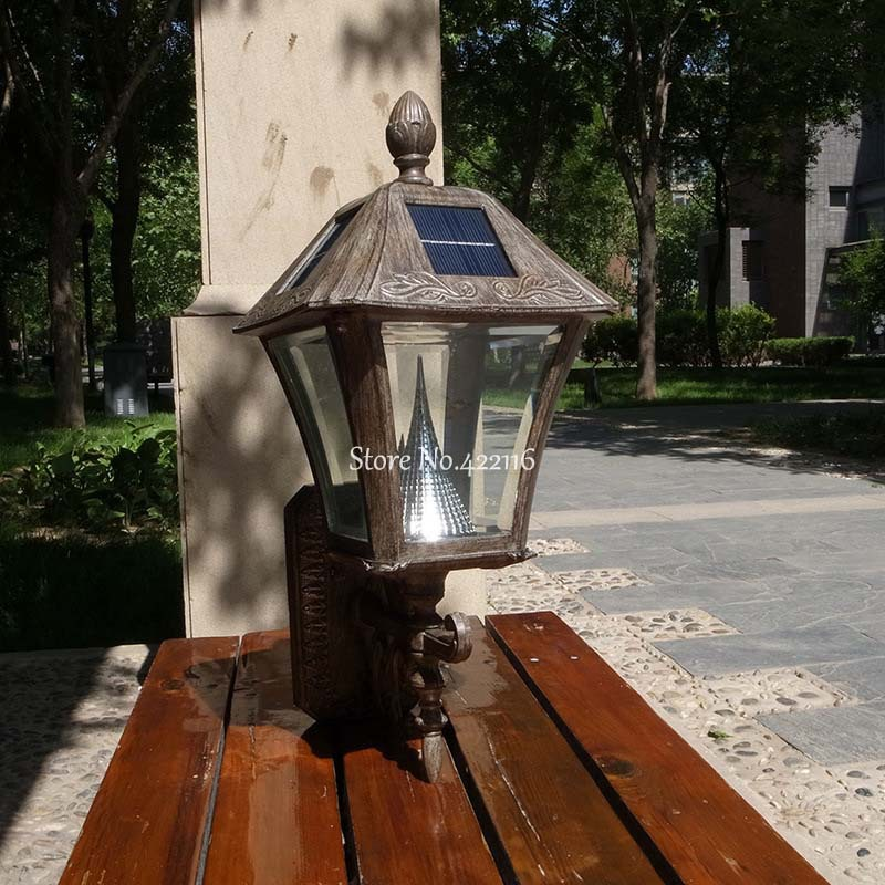 Atractivo iluminacion exterior led solar patr n ideas de for Luces de navidad solares para exterior