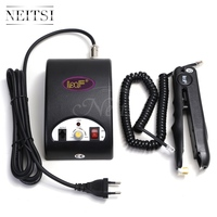 Neitsi 1PC Black Loof Extension Supersonic Ware Machine Ultrasonic Hair Extension Fusion Connector Iron Tool Fast Shipping