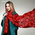 Xale de lã 100 cm X 200 cm Inverno Quente Envoltório Xaile Das Mulheres Plus Size Moda de Nova Desigual Venda Direta Da Fábrica frete Grátis