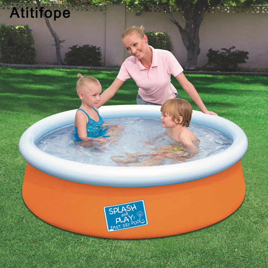 Water Sports Responsible Flamingo Children Inflatable Swimming Pool Water Play Outdoor Piscina Portable Crocks Bathing Pool Water Toys Ocean Ball Pool Consumers First