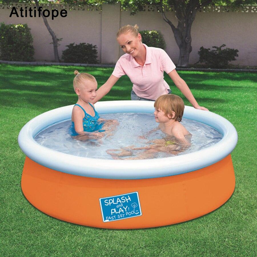 Grande taille papillon haut gonflable épaissir surdimensionné filles garçons pataugeoire famille enfants piscine été eau jouer piscine