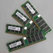4 ГБ 4 x 1 ГБ PC3200 400 мГц 184 контакт. низкой плотности настольных памяти 2Rx8 CL3 DIMM 4 г оперативной памяти для dell, Intel, Hp, Compaq, Asus, Sony motherbaords