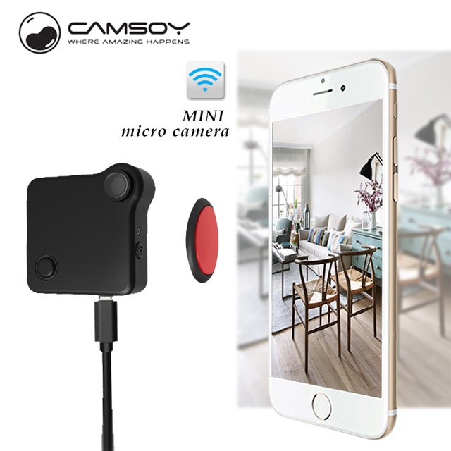 Camara espia CAMSOY C1 Mini camera Multipurpose Motion Sensor Loop Recording HD 720P MP4 H.264 micro Camera dvr
