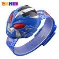 Fashion Creative Cartoon Watch SKMEI Brand Children's Watches Digital Wrist watches For Kids Boy Girl