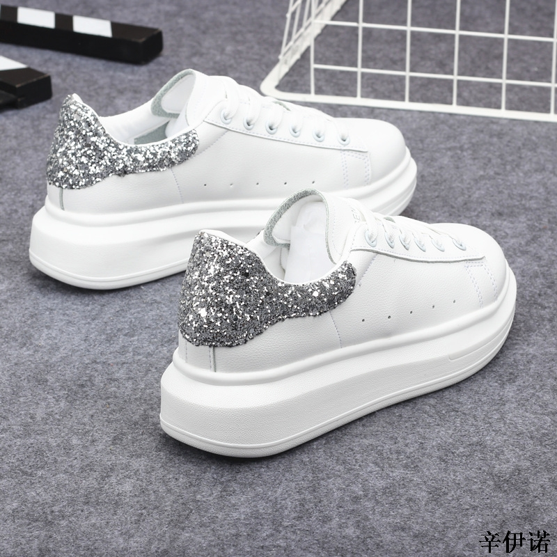 New Fashion Vulcanize Shoes Trainers Women Sneakers Casual Shoes Basket Femme PU Leather Tenis Feminino Zapatos Mujer Plataforma 56