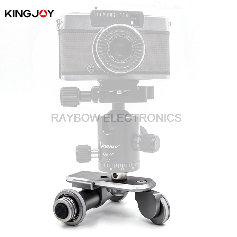 Kingjoy PPL 06 electric 3 Wheels video Car professional gopro go pro cell phone stand for