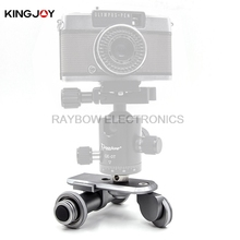 Kingjoy PPL-06 electric 3 Wheels video Car professional gopro go pro cell phone stand for Smartphone DSLR mirrorless GOPRO