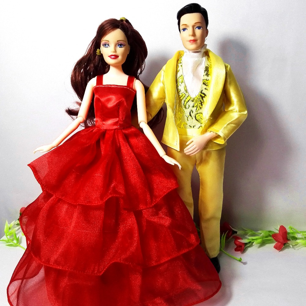 Best Barbie Dolls And Toys : New fashion prince and princess dolls for barbie doll toys