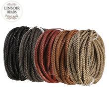 e2ca72d2fffc Braid Leather Cord - Compra lotes baratos de Braid Leather Cord de ...