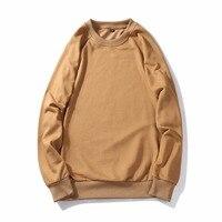 Basic Hoodies Men 2017 Sudaderas Hombre Hip Hop Solid Hooded Hoodie Sweatshirt Slim Fit Unisex Fashion