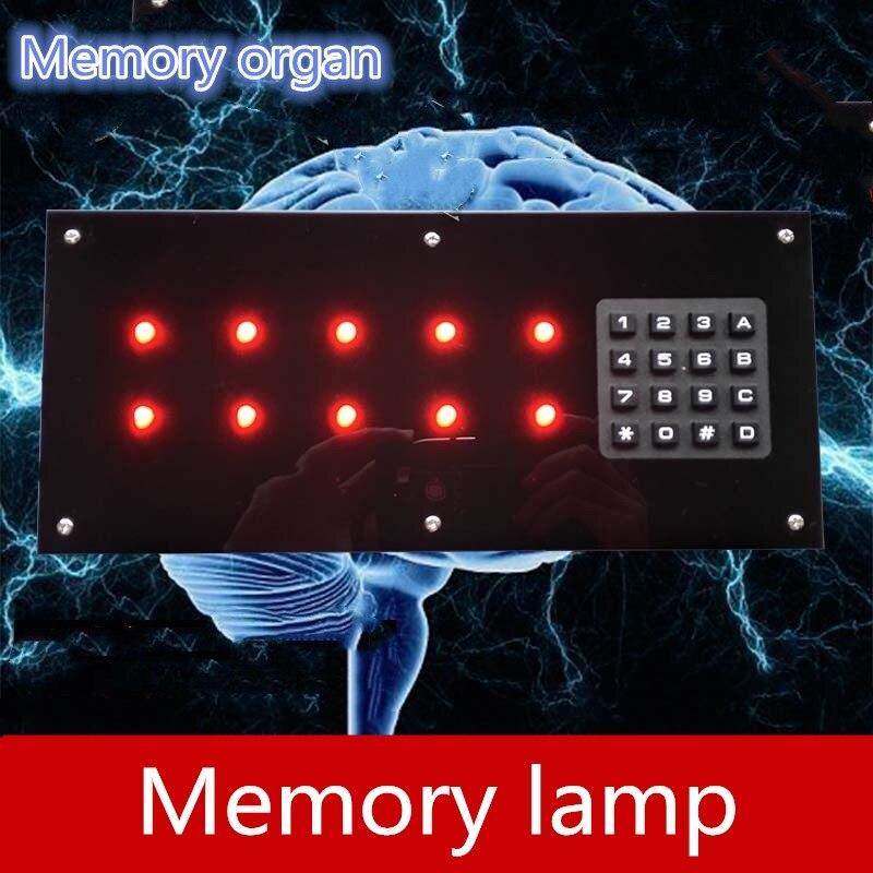Jeux de la vie réelle accessoires de salle d'évasion mémoire lampe orgue mémoire panneau de sténographie takagisme jeu évasion de la salle secrète accessoires