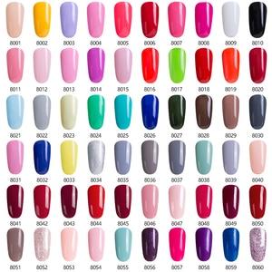 Image 2 - Modelones 36W UV Led Lamp Cure UV Gel Polish Soak Off 3 Colors Nail Gel Base Coat Top Coat Nail Manicure Kit Tools Set