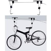 Bike Biciclette Ascensori Soffitto Montato Stoccaggio Paranco Garage Assemblee Appendiabiti Cremagliera Puleggia Accessori Per Biciclette Ascensore