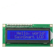 Hot 1602 16×2  HD44780 Character 1602 LCD Module Display 5V Serial IIC/I2C/TWI For Arduino UNO R3 MEGA2560 Nano Free Shipping