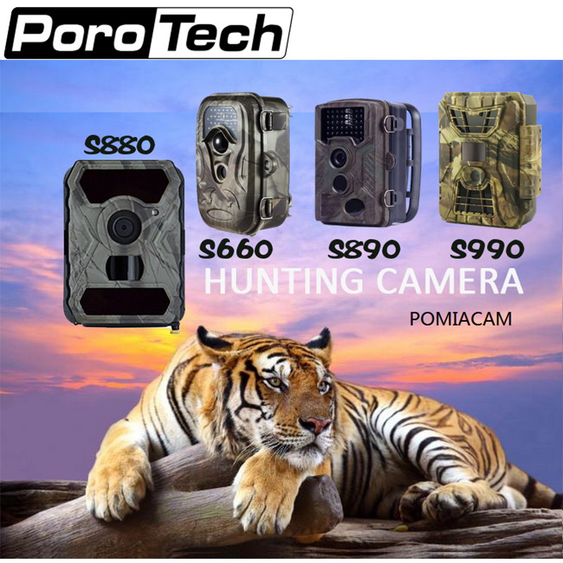 wildlife necessary Climbing demand Long service Hunting Trail Camera  HD 12MP 1080P Video Night Vision Scouting Infrared Game free shipping wildlife hunting camera infrared video trail 12mp camera