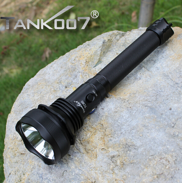 Tank007 TC60 Cree XM-L U2 1200lm Tactical Flashlight for Hunting and Fighting by 2 X18650 BatteryTank007 TC60 Cree XM-L U2 1200lm Tactical Flashlight for Hunting and Fighting by 2 X18650 Battery
