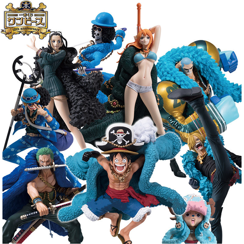 Toys & Hobbies 6-16cm One Piece Figure After 2 Years Monkey D Luffy Nami Chopper Nico Pvc Action Figure Collection Model Toy Excellent In Cushion Effect