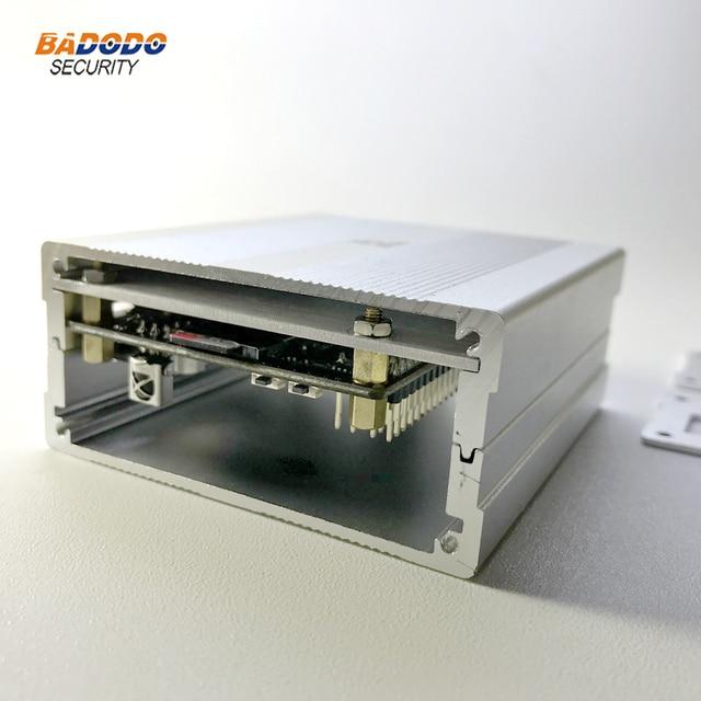 R$ 44 62 10% de desconto Liga de alumínio Case Para PINE64 ROCK64 demo  Board Gabinete Caixa de metal em Acessórios de Controle De acesso de  Segurança
