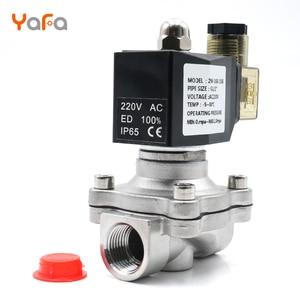 Image 2 - AC110V 220V 380V 24V DC12V 24V ,Normally closed, solenoid valve, 304 stainless steel, water valves,Moisture proof  diaphragm
