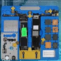 MECHANIKER Doppel schicht Leuchte für iPhone A7 A8 A9 A10 A11 A12 NAND PCIE Motherboard fingerprint CPU Chip Entfernen kleber reparatur|Elektrowerkzeuge Zubehör|   -