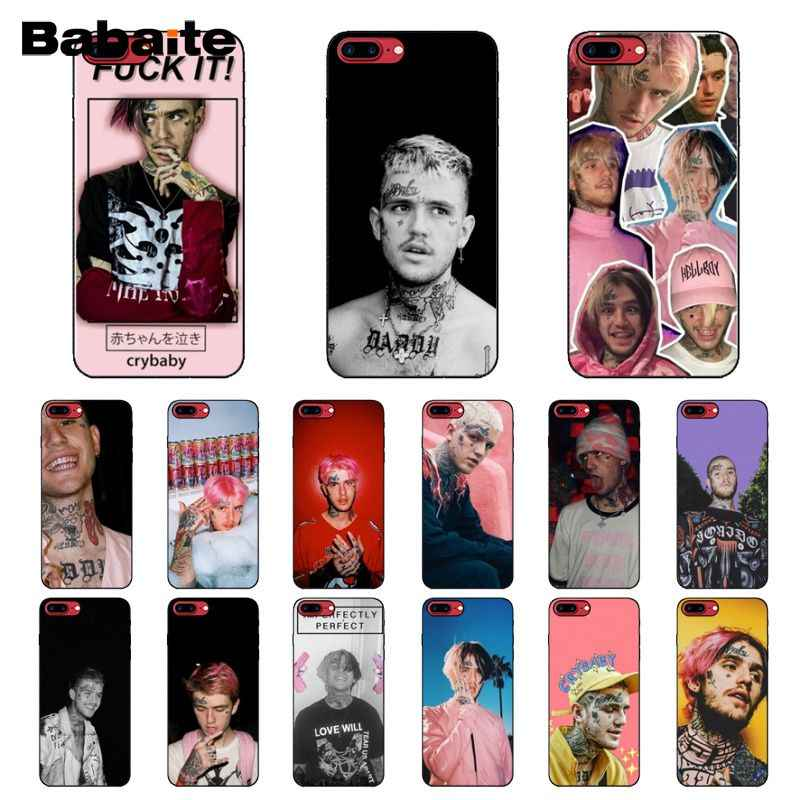 Babaite Lil Peep Lil Bo Peep DIY Luxury High-end Protector สำหรับ iPhone 8 7 6 6S plus 5 5S SE XR X XS MAX Coque SHELL