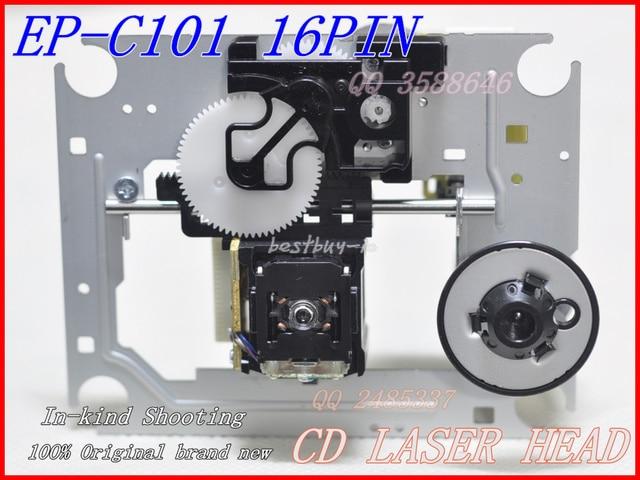 CD laser lens  EP-C101 EP-C101N (16PIN) Optical pickup with Mechanism  (DA11-16P)   DA11    EP C101