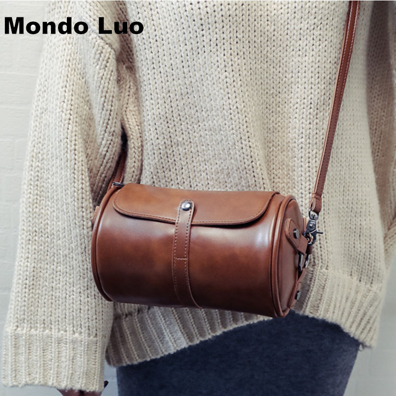 Women's Bags Luggage & Bags 2019 Novelty Mini Genuine Leather String Bucket Bag For Women Samll Real Cow Leather One Shoulder Bag Portable Crossbody Bag