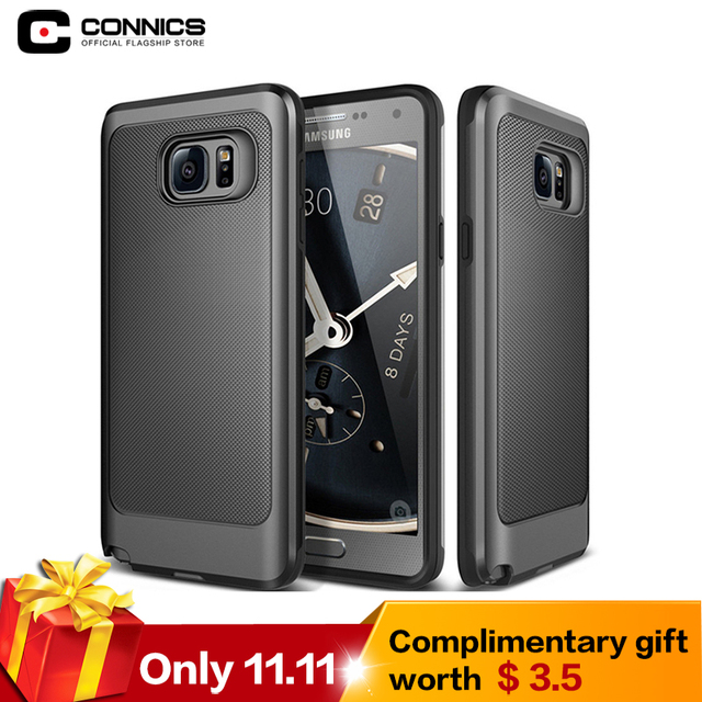 CONNICS S8 Rugged Rubber Dual Layer Shockproof Hard Case For Samsung Galaxy S6 S7 edge plus Note 3 4 5 / J5 J7 / G530 Phone Case