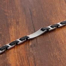 Classic Biker Chain Design Bracelet