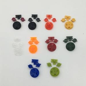 Image 2 - 10 conjuntos de Multi Cor Botões para Gameboy Clássico GB Teclados para GBO DMG DIY para Gameboy Ab botões D pad