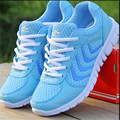 Hot 2017 Spring New Woman summer shoes casual breathable shoes cheap Ladies Red White Sport Walking Shoes