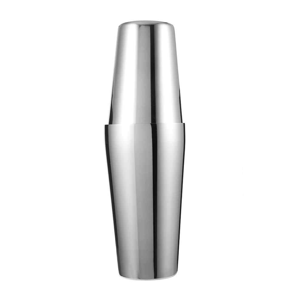 600 ML Stainless Steel Cocktail Shaker Bar Set Wine Martini Drinking Mixer Boston Style Shaker For Party Bar Tool
