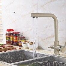 Neu Ankunft US Kostenloser Versand Deck Montiert Küchenarmatur Mixer Malerei Wasserhahn