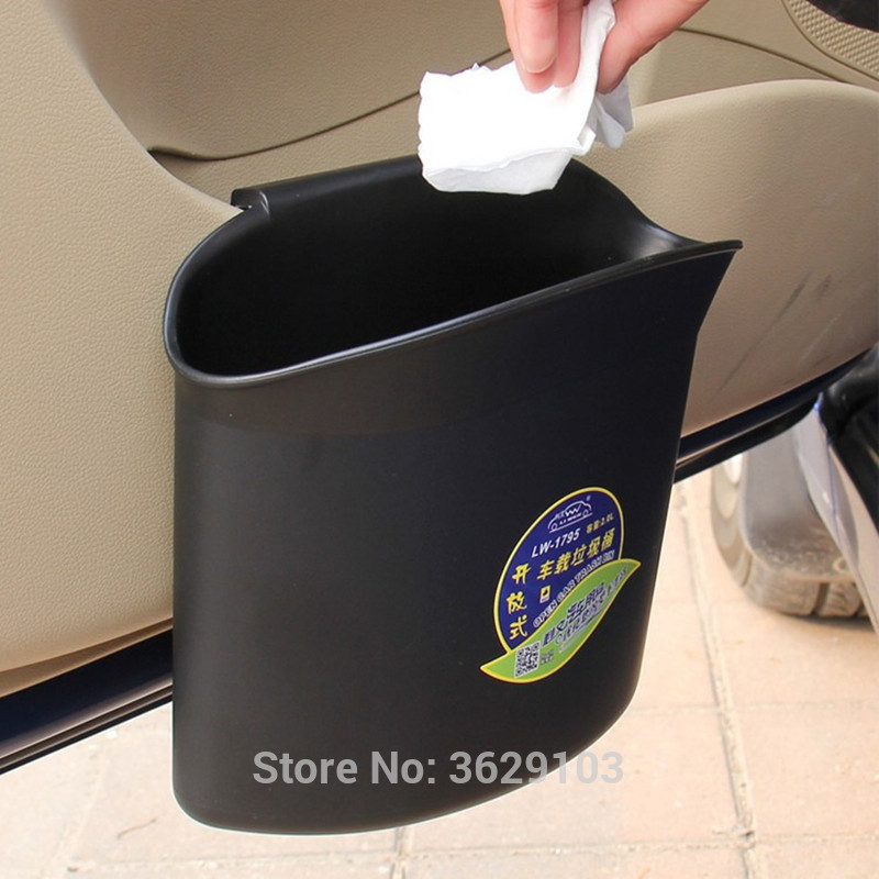 Vehicle garbage bin storage box Collecting and finishing car-styling for Cadillac srx cts ats escalade sts dts bls