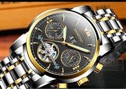 40mm zegarek biznesowy Sangdo automatyczny mechanizm samoczynnego wiatru szafirowy kryształ wysokiej jakości 2016 nowy modny zegarek męski 0002