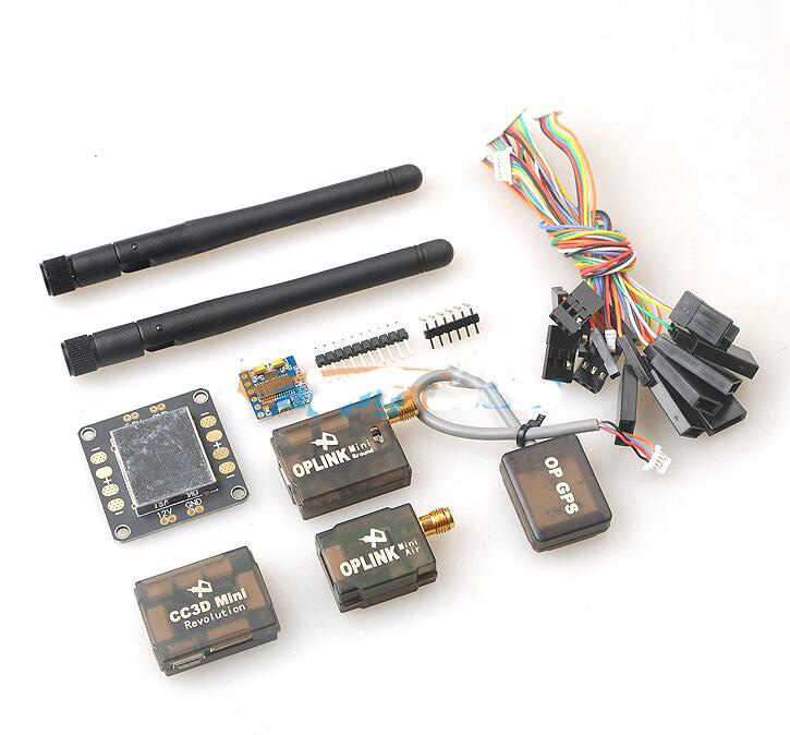 Mini CC3D Revolution + OP GPS + OSD + OPlink unmanned suit the revolution mini 500