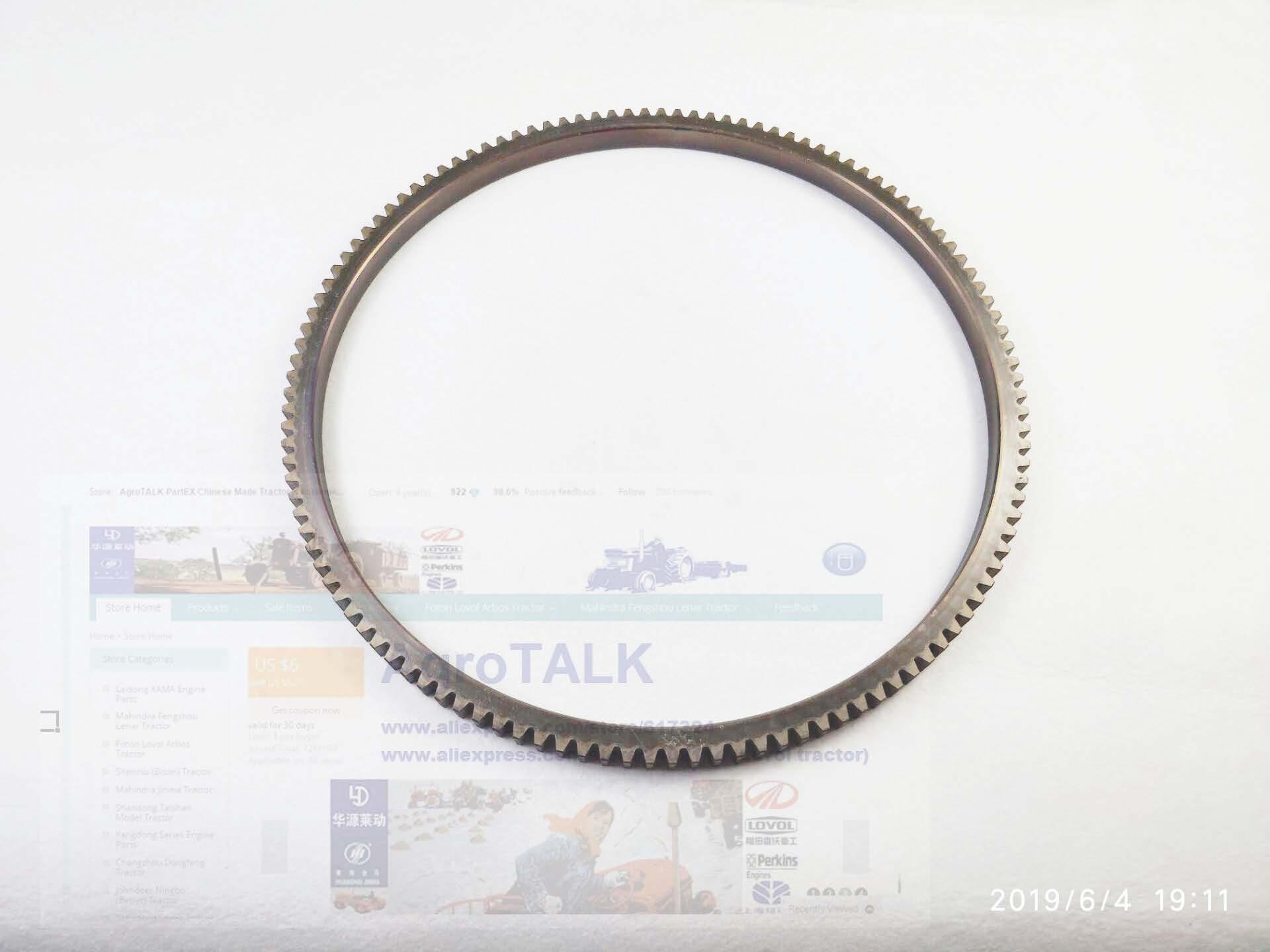 Fujian Lijia engine parts, the flywheel gear ring, part number:100-05102-1Fujian Lijia engine parts, the flywheel gear ring, part number:100-05102-1