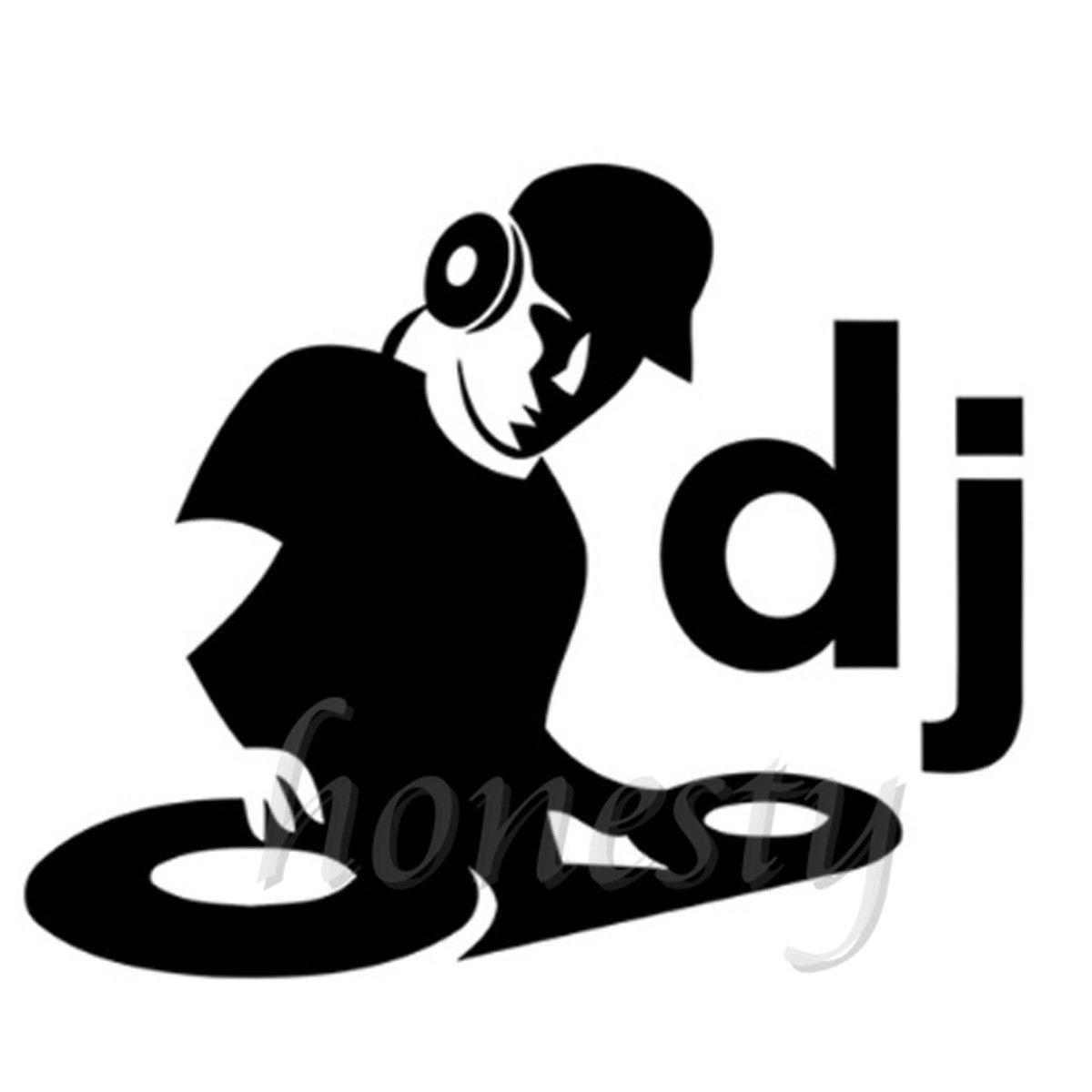 DJ Musique Fenêtre Mur Accueil Porte En Verre Autocollant ...