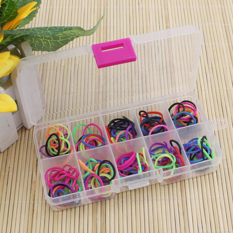 10 Grid for Jewelry Pill Plastic Cosmetic Storage Jewel Bead Case Cover Box Storage Container Transparent Organizer Storage Box