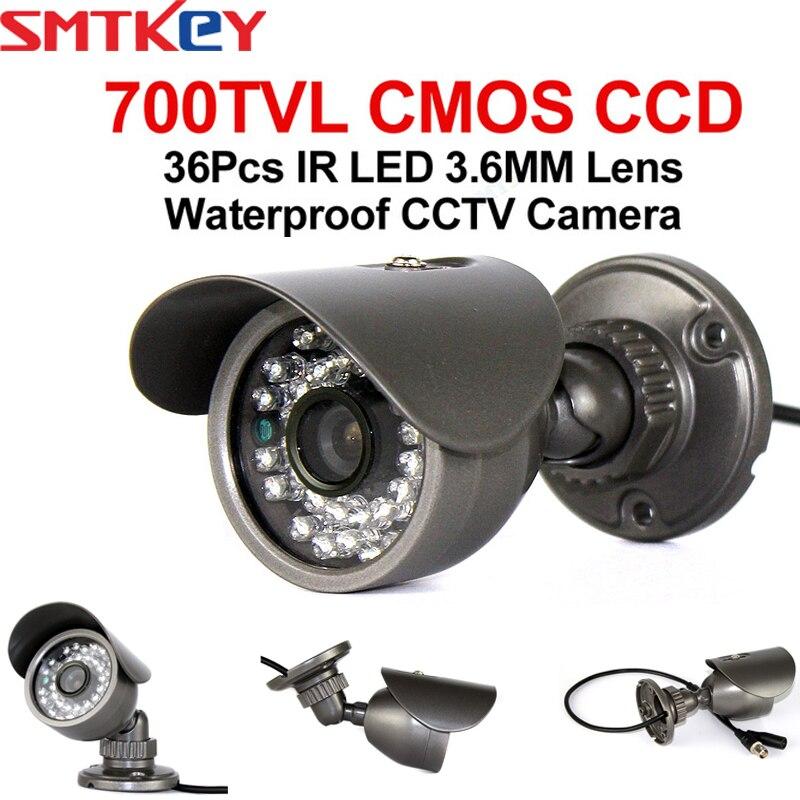 Camera, Photo & Video 3.6mm Lens 700TVL 36 IR LEDs CMOS CCD Outdoor Surveillance CCTV Camera Surveillance