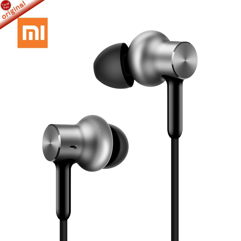 100%  Original xiaomi Hybrid Pro HD In Stock Earphone with Mic Remote Headset for Xiaomi Redmi Red Mi Mobile Phone In-Ear original xiaomi xiomi mi hybrid earphone 1more design in ear multi unit piston headset hifi for smart mobile phone fon de ouvido