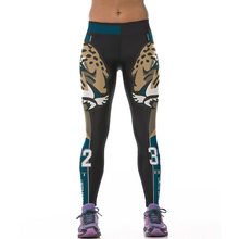 Stretchy Hips Push Up Sexy font b Leggings b font 2016 New Fashion Tiger Printed Fitness