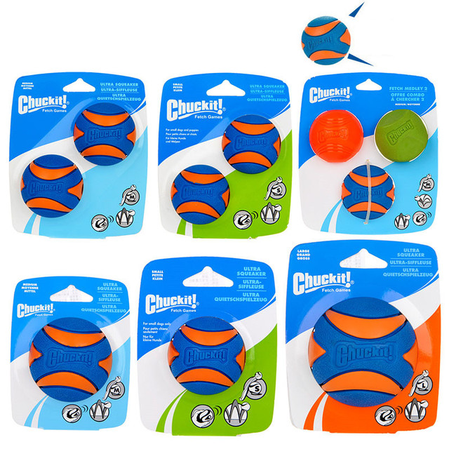HOOPET Pet Dog Puppy Squeaky Chew Toy Sound Pure Natural Non-toxic Rubber  Resistant to Bite Teeth Cleaner Ball