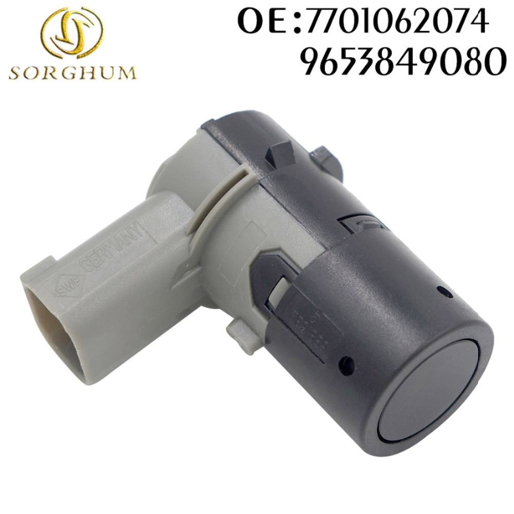 Parking Sensor PDC 7701062074 9653849080 For Renault Clio Grand Espace Scenic  Laguna Megane Saab 9-5 Mini Cooper 550, R52, R53