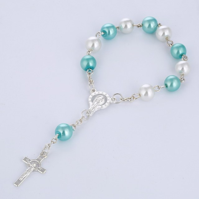 Купить католические четки ожерелье стеклянные бусины четки католические
